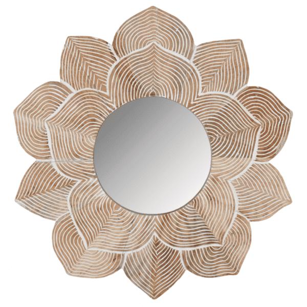 Miroir lotus