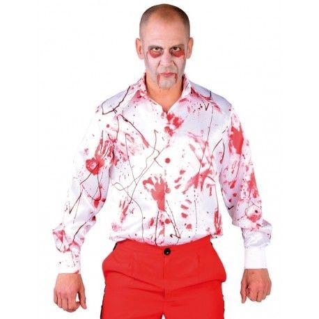 Chemise avec sang