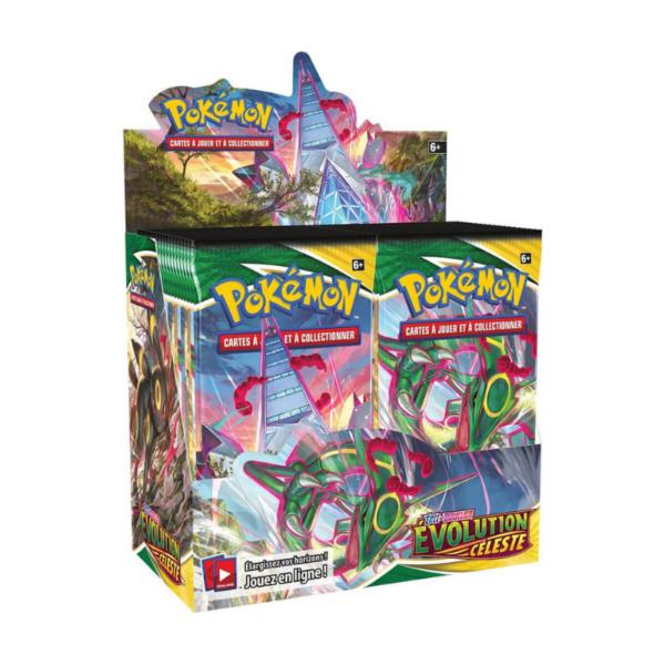 Display Pokémon 36 boosters