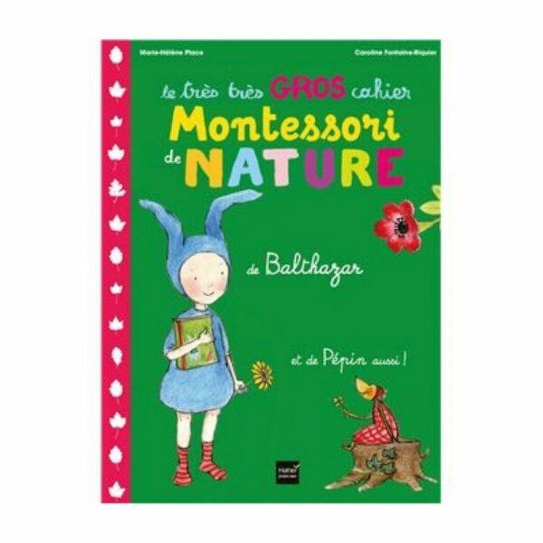Cahier Nature Montessori