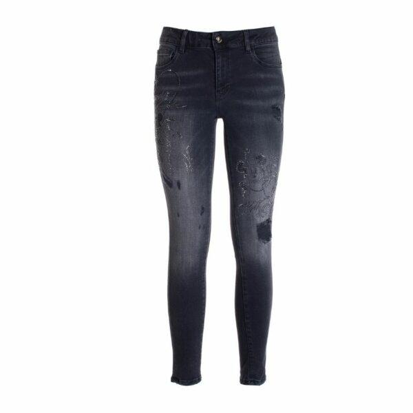 Jeans gris Fracomania